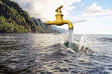 desalination, potable, cheap drinking water