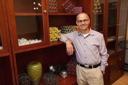 Solar Water inventor Omar Yaghi in Berkeley, and his metal-organic models