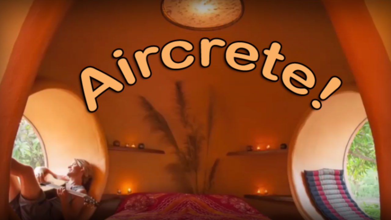 Aircrete! | Living Off the Grid: Free Yourself